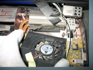 Curatarea sistemului de racire laptop notebook